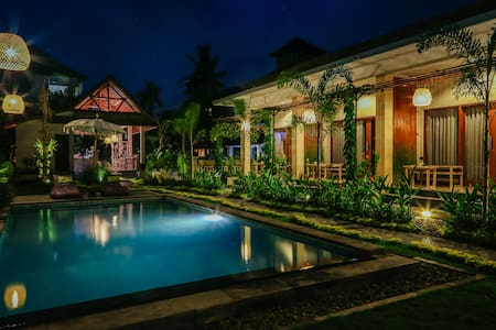 Ubud- One Bedroom Garden & Paddy View Villa - Villa
