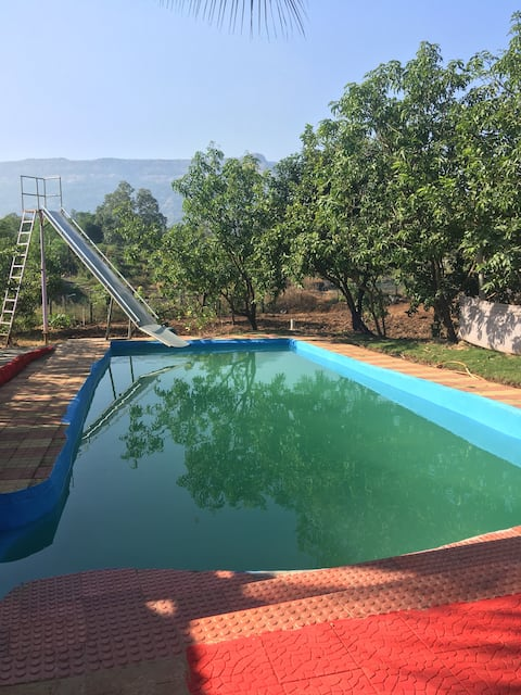 Private Pool River hugging property Peaceful Stay