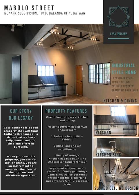 Spacious Industrial Home Style - Quiet Subdivision