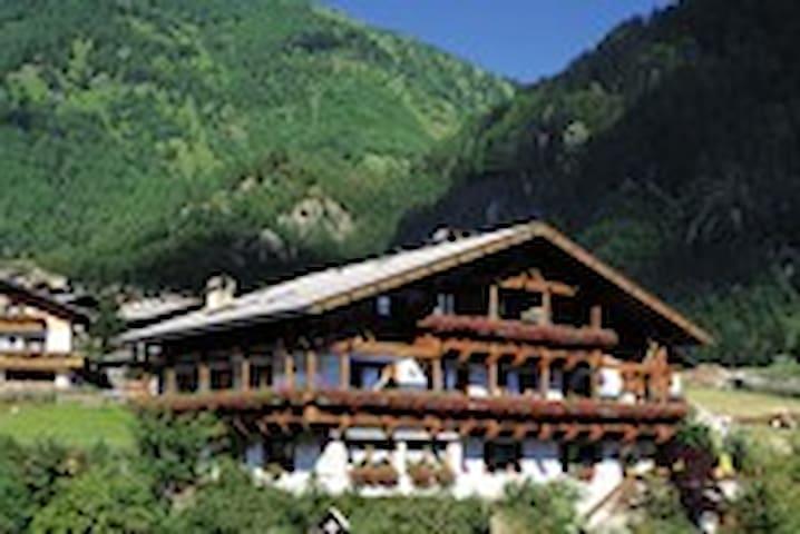 Ferienwohnung in den Bergen