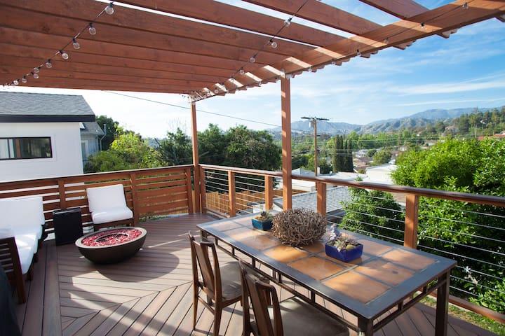 Quiet Highland Park Hillside Home - Los Angeles - Casa