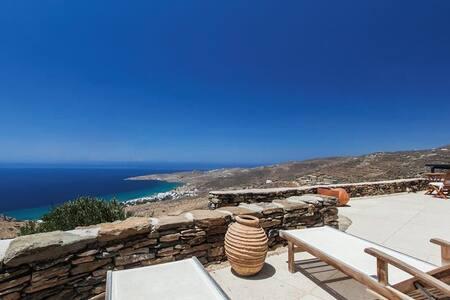 Villa Agnes In Tinos - Exomvourgo