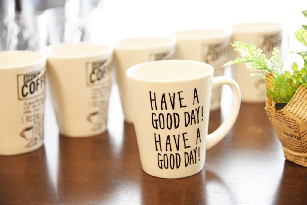 Morning tea!