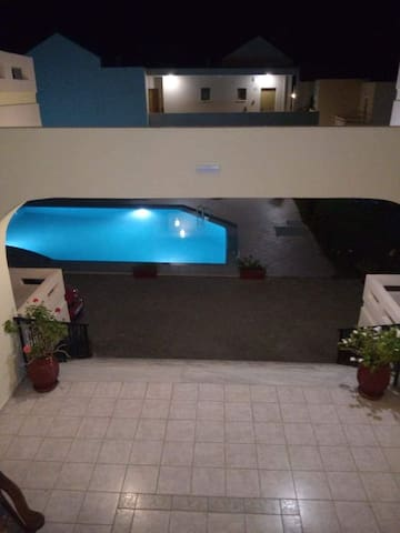 Litinas Apt 3 with pool & balcony with sea view