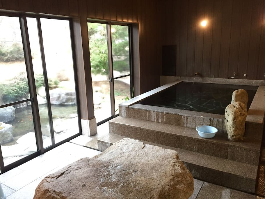 Private onsen after Cocoekan business hour