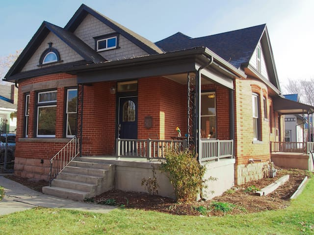 Built in the early 1900s with charming Victorian architecture.