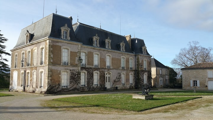 French castle at 10 minutes from Angouleme