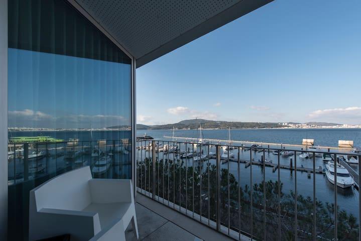 Fantástica Vista para a Marina - Carvalhal - Apartment