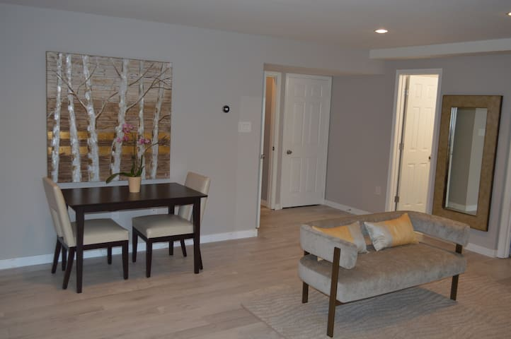 LUXURY BASEMENT APARTMENT ALL TO YOURSELF