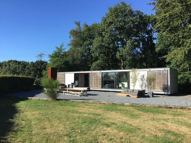Design huis Bergvliet met Hottub en Sauna