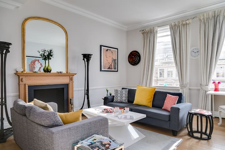 London cutest 2 bed terraced Apt. By Hyde Park