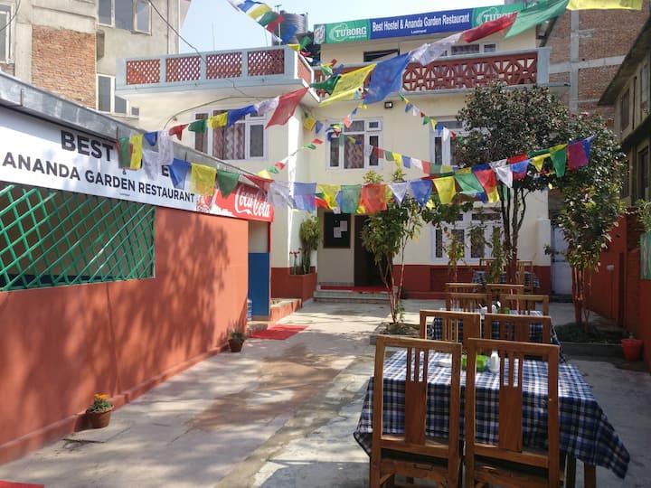Best Hostel & Ananda Garden Restaurant