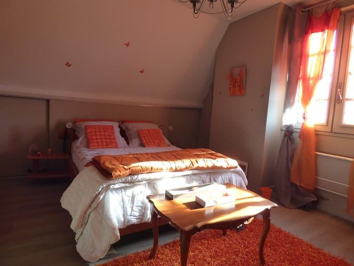 3 chambres agréables pour 6 personnes