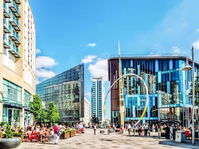 Amazing Location, City Centre Double Rm