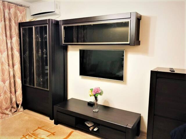 Двухкомнатная квартира на Манаса-Киевская