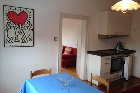Gästezimmer mit Küche und Gartennutzung - Hagenbach - Дом