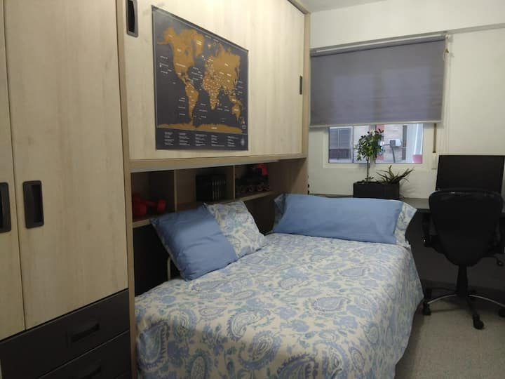 Habitación individual, con opción para parejas
