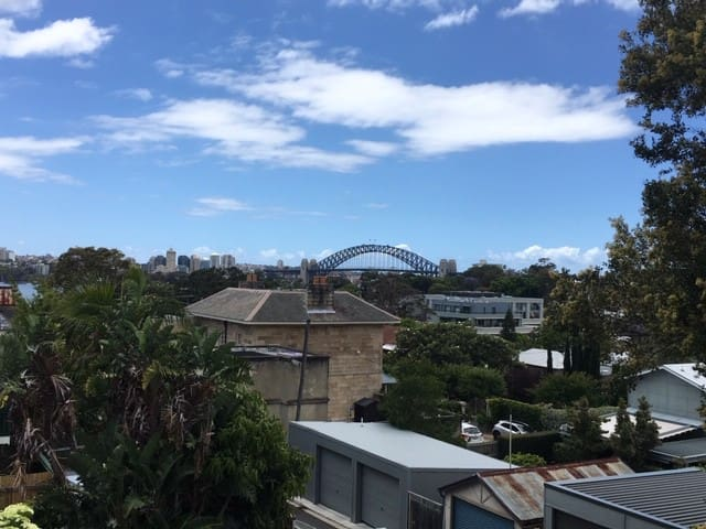 View of the Harbour Bridge from the Balcony