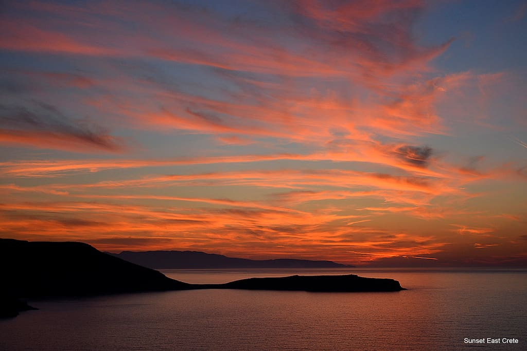 East Crete Sunset