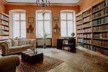 Euer Wohnraum in dem ihr lesen und entspannen könnt.