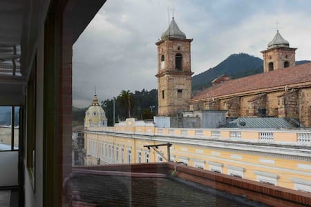 Centro histórico con espectacular vista, Zipaquirá