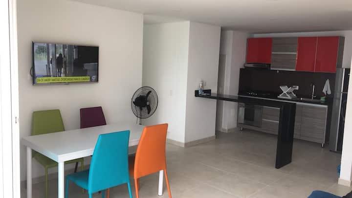 Apartamento Amoblado cerca a La Mesa