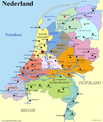 Guidebook for the Netherlands