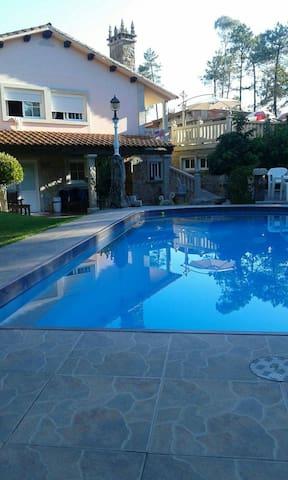 Habitación doble con baño privado desayuno - Nigrán