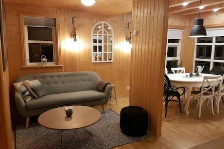 Golden circle cabin w/hot tub #21 - Grímsnes- og Grafningshreppur - Mökki