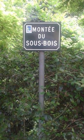 Adresse Montée du Sous Bois Résidence