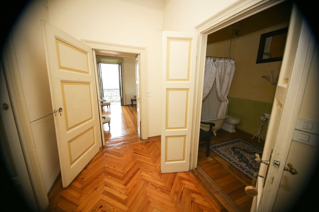 anticamera privata Suite Gioia