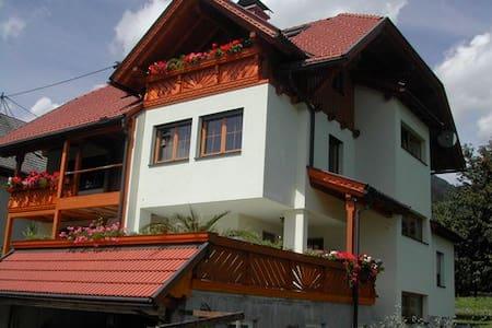 Familienfreundliche Ferienwohnung - Kirchbach - Ortak mülk