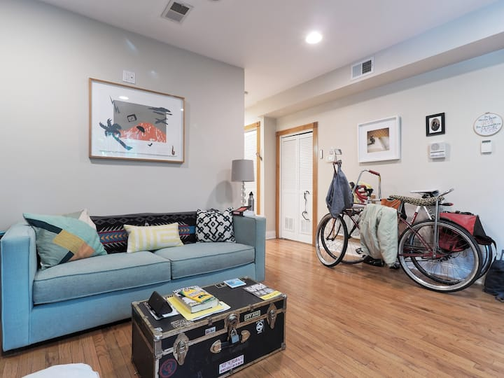 Cozy Condo in DC's Historic Eckington Neighborhood