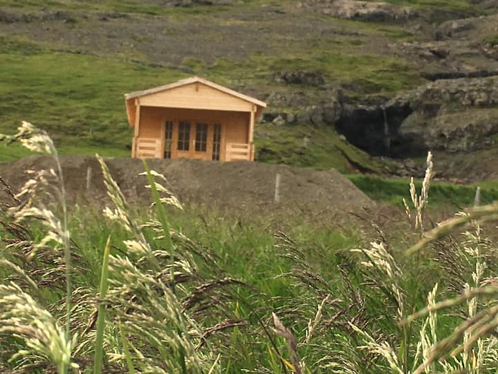 Bjálkinn, east iceland log Cabin