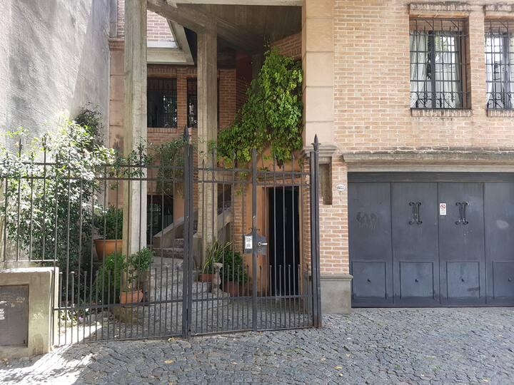 Habitacion  en Palermo Soho + jardin