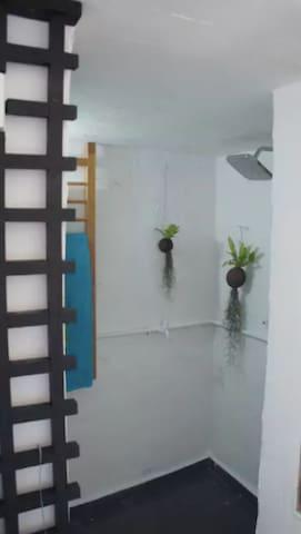 Ground floor shared shower room.