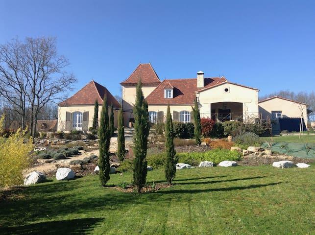 Belle villa avec piscine au calme - Saint-Cirq-Souillaguet - House