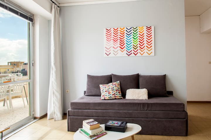 Comfy apartment at the heart of the city center