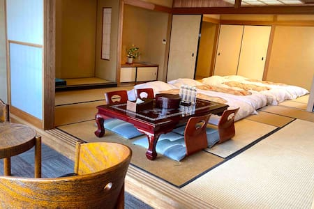 5人広部屋に檜風呂付 個別エアコン70㎡ 303 WIFI、温泉大浴場、羽毛 焼立鯵朝食、浴衣