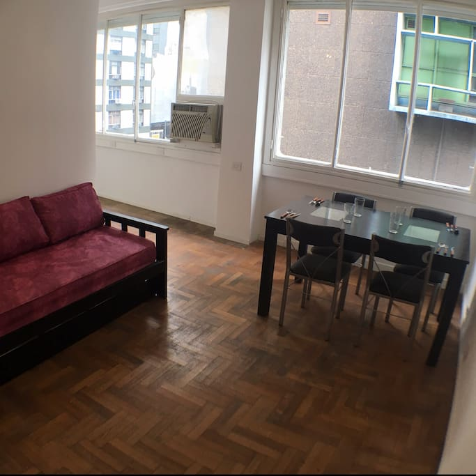 Very fresh apartment! Almost no need for air conditioning! (But still an option!)