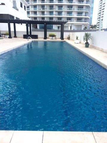 Masterbedroom City Center Balboa av - Panamá - 아파트