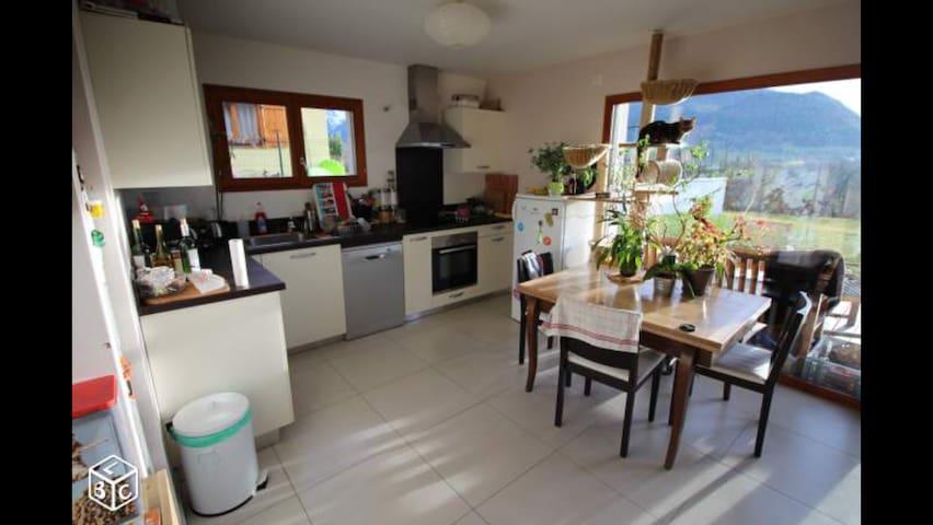 Maison sur les hauteurs d'Annecy - Nâves-Parmelan - Huis