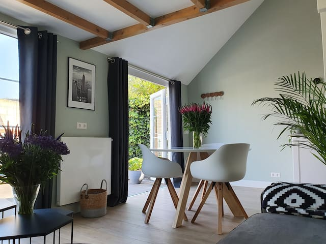 Private house with terrace (airport, lake, A'dam)