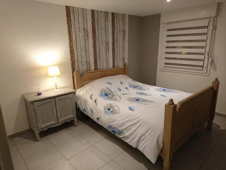Appartement 60 m2 dans maison familiale