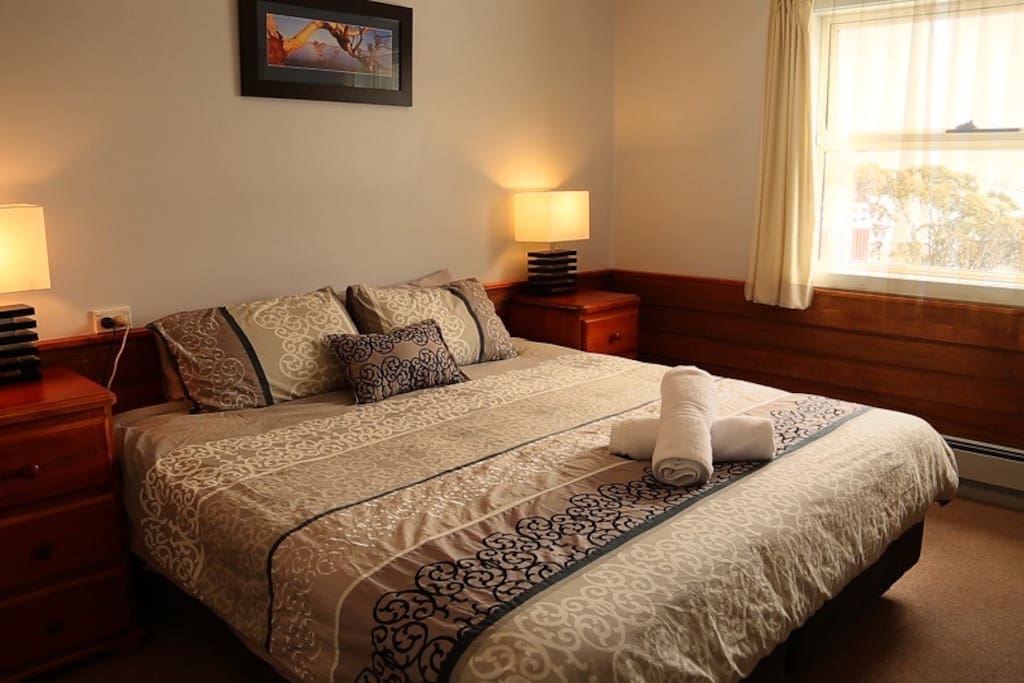 Comfortable rooms with Central heating and ensuites