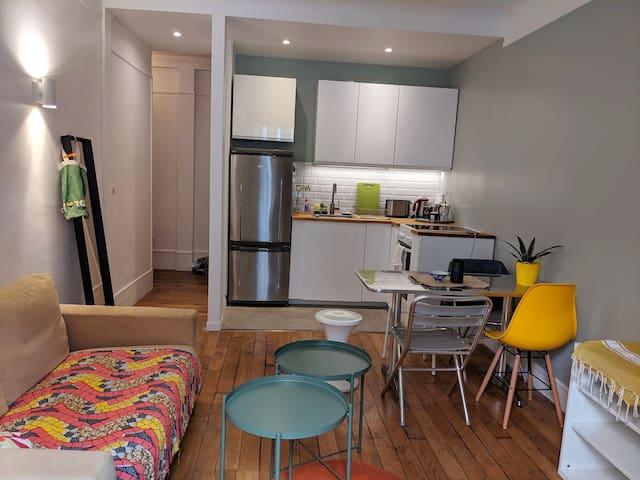 Cosy 2 rooms near Montmartre (Paris)