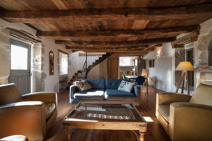 Naudou - Magnifique maison en pierre - Caniac-du-Causse - Hus