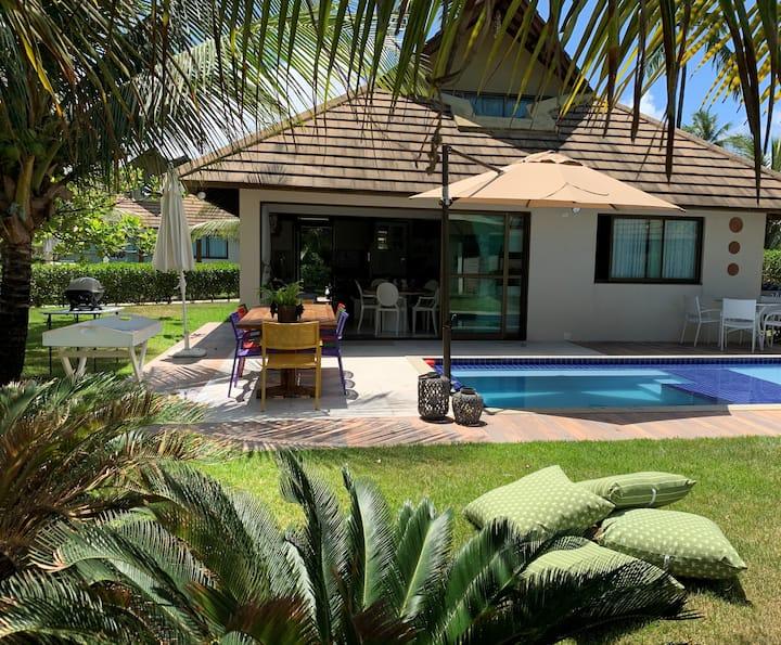 Bangalô de LUXO à Beira Mar Carneiros Beach Resort