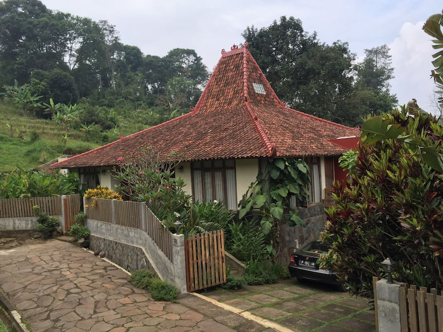 Javanese traditional home architecture