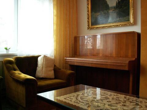 Apartamento agradável na calma rua Dvorak